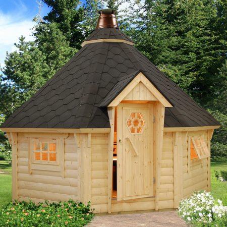 kiosques ou pavillons archives abris bois jardin. Black Bedroom Furniture Sets. Home Design Ideas