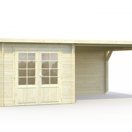 Abris de jardin toit plat ou monopente archives abris bois jardin - Abri de jardin toit plat tek ...