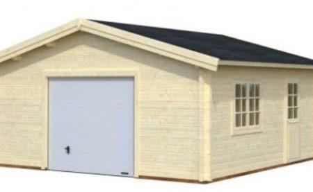 Garage bois archives abris bois jardin for Garage kit bois