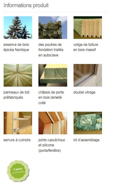 Eva 8,7 m² info
