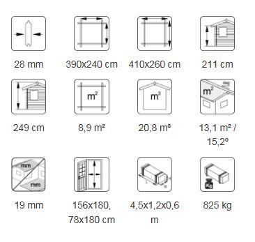 Jari 8.9 m² desc