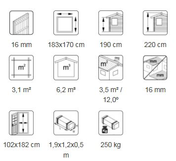 Leif 3,1 m² desc