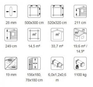 Jari 14.5 m² desc