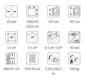 Harry 3,1 m² descriptif