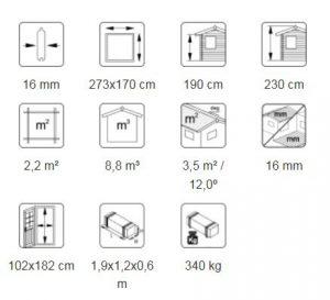 Leif 4,2 m² _ Plan