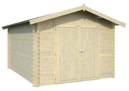 abri de jardin en bois pour le rangement porte double ch ssis en contre coll. Black Bedroom Furniture Sets. Home Design Ideas