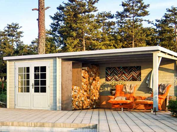 Abris de jardin toit plat ou monopente